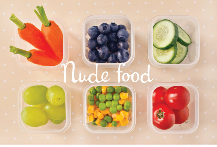 Nude food - Lunchbox Ideas