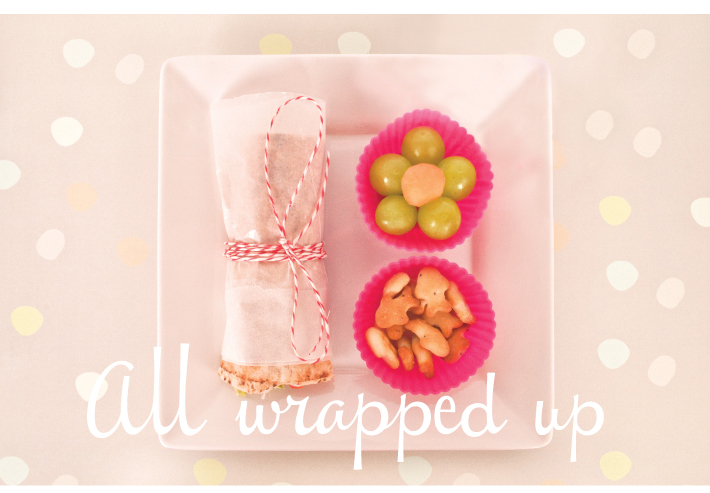 Chicken wraps - Lunchbox Ideas