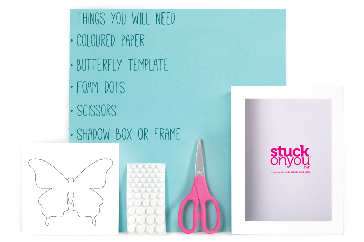 Things you need for Butterfly Art