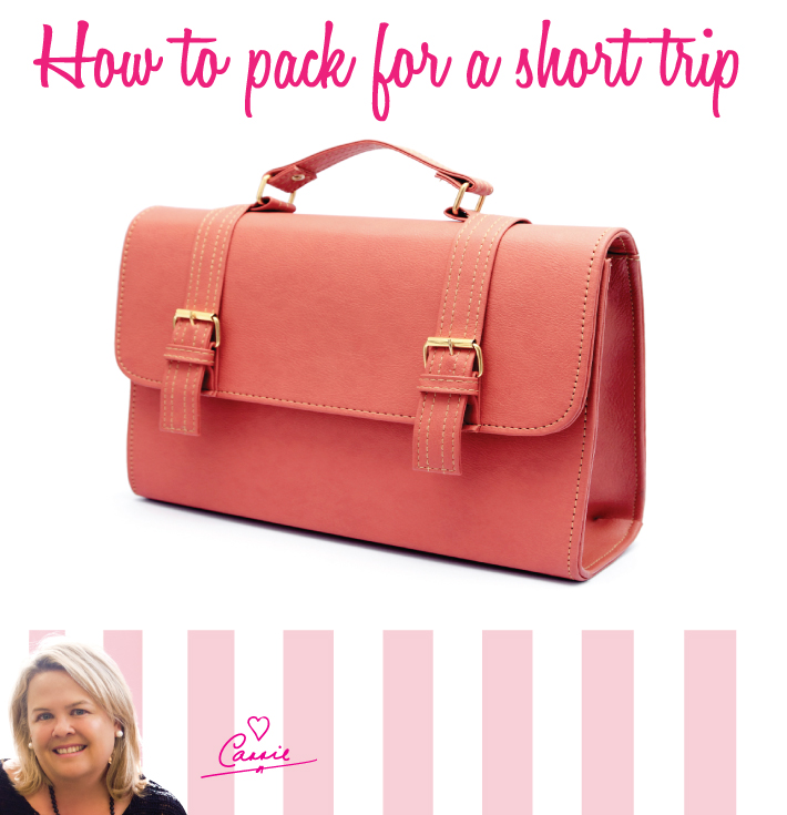 HOW TO PACK FOR A SHORT TRIP WITHOUT KIDS