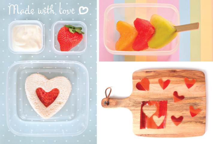 5 WAYS TO PUT LOVE IN THEIR LUNCHBOX
