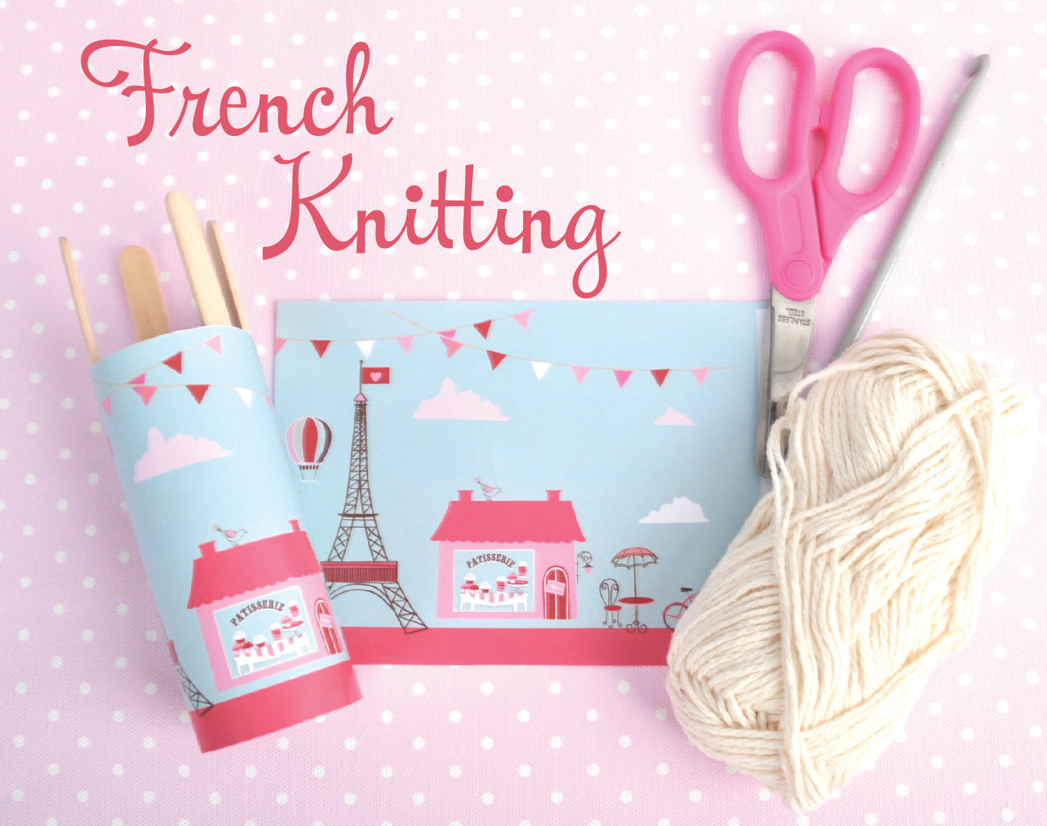 How to do French Knitting with Stuck on You