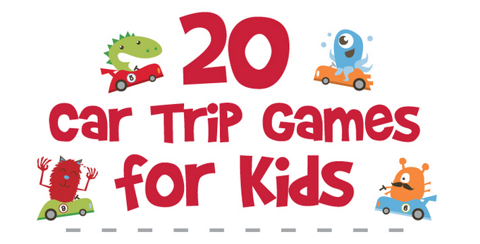 20 car trip games for kids