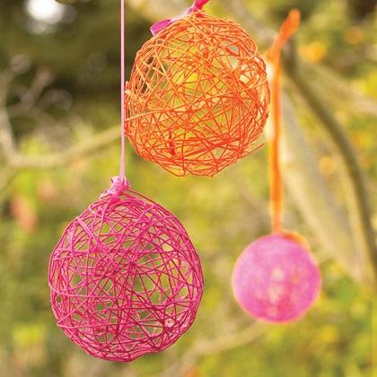 Yarn Easter Eggs Stuck On You