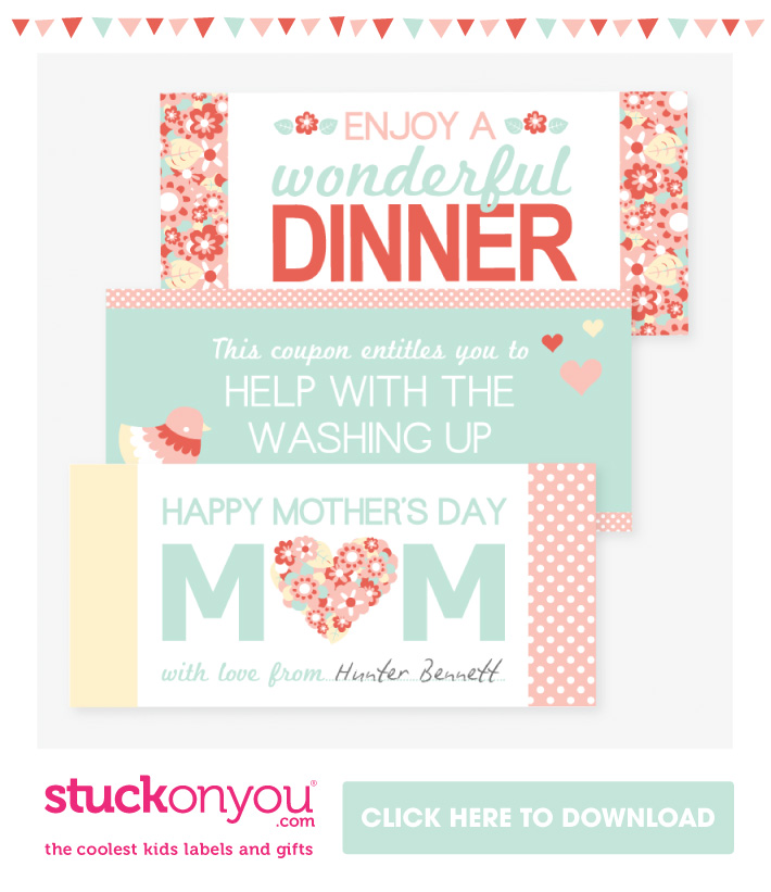 Free Printable Mother'd Day Coupons