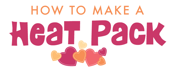 How to make a Heat Pack | Stuck on You