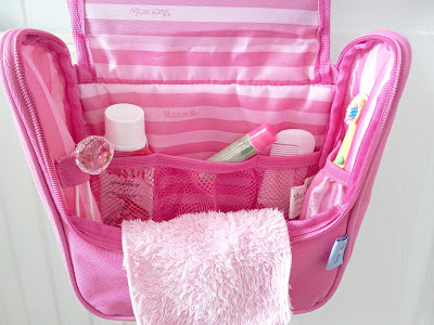 personalized toiletry bag stuck on you