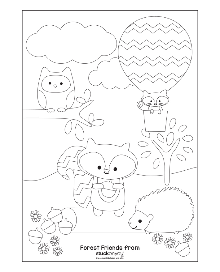 Free Printable Colouring In | Stuck on You