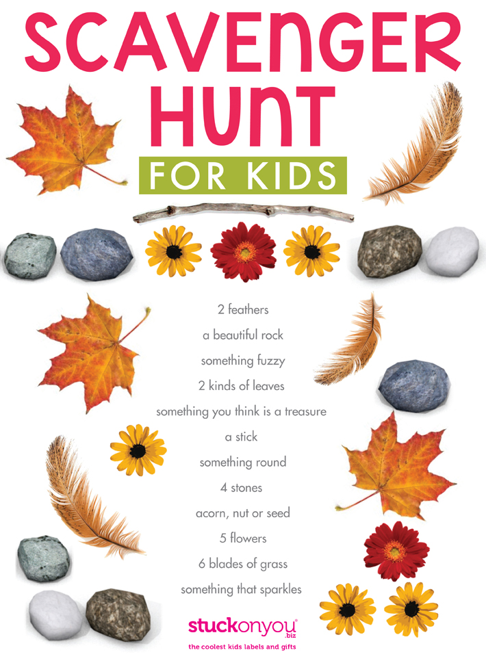 picture about Printable Scavenger Hunt named Scavenger Hunt for Children Cost-free Printables
