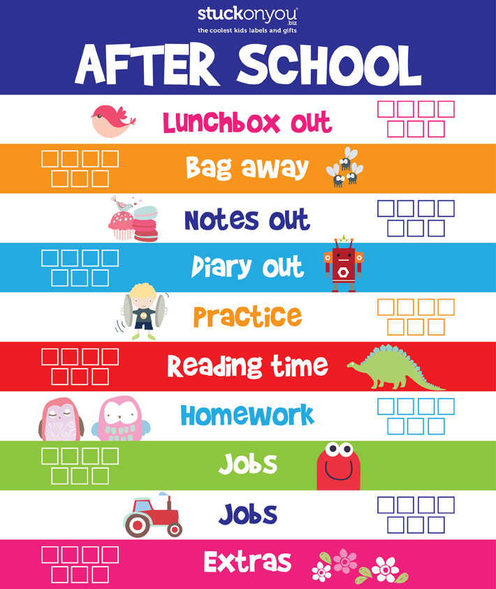 image regarding After School Schedule Printable identify How toward Consider into the Back again in direction of Higher education Plan Caught upon Yourself