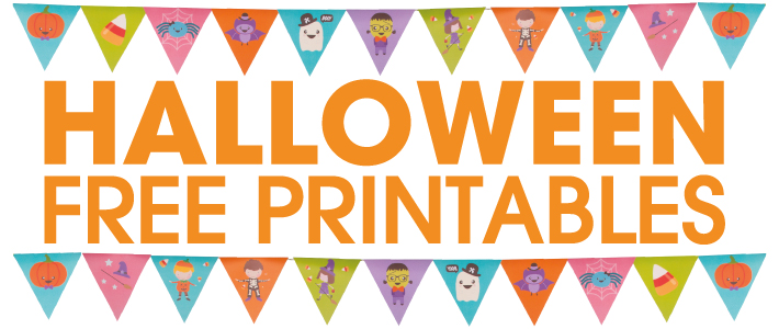 10 halloween free printables create your own halloween - Printable halloween decorations ...