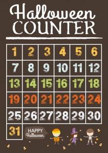 Halloween Counter | Free Printables | Stuck on You