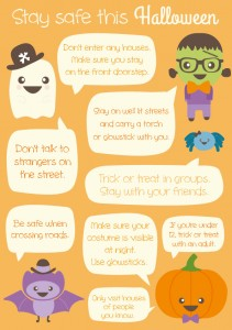 Halloween Safety Tips | Stuck on You