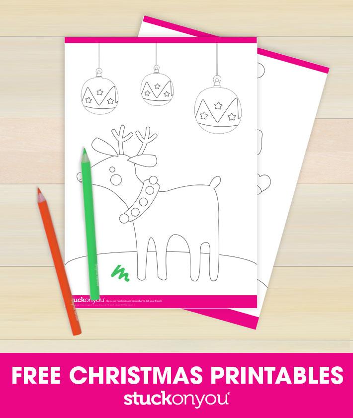 Free Christmas Printables | Stuck on You