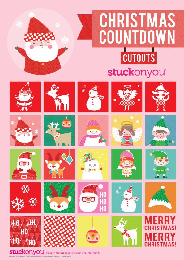 Free Printable Christmas | Stuck on You