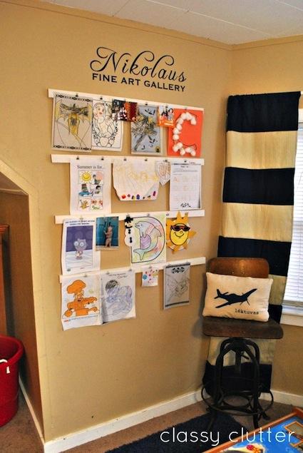 Creative Ways to Display Art   Stuck on You