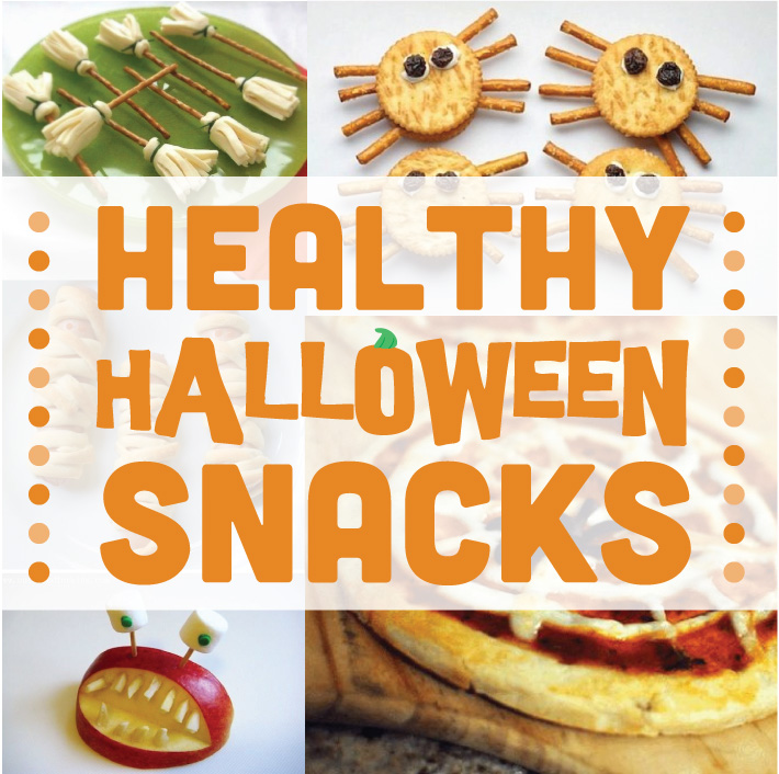 Healthy Halloween Snacks | Stuck on You