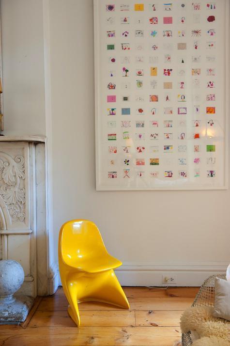 Creative Ways to Display Kids Art   Stuck on You