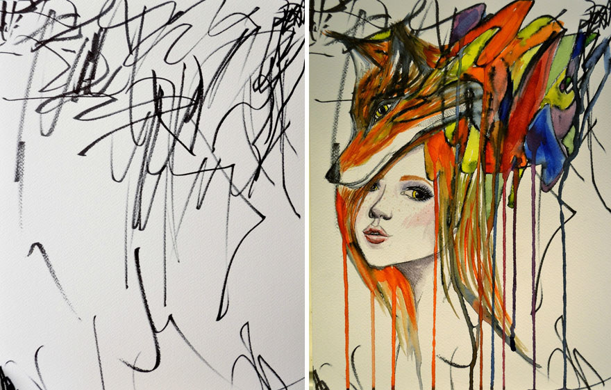 Kids Art | Stuck on You