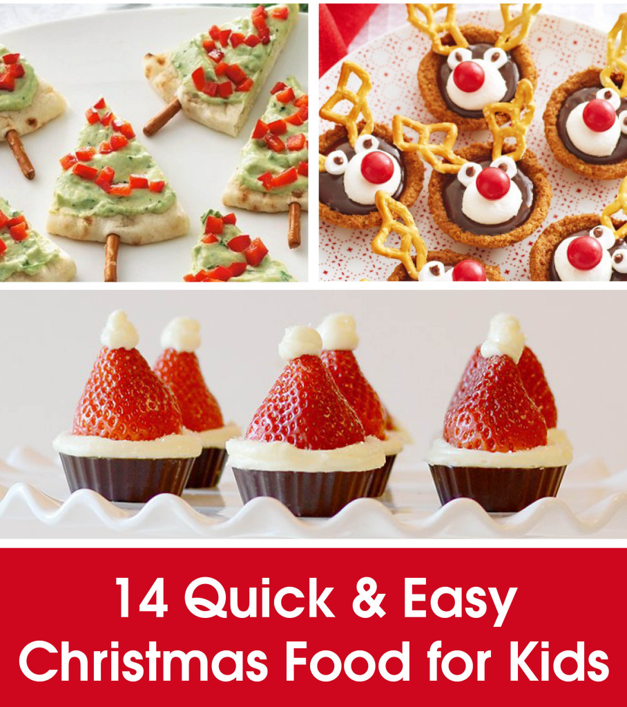 quick and easy christmas food for kids stuck on you