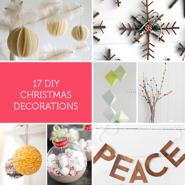 DIY Christmas Decorations | Stuck on You