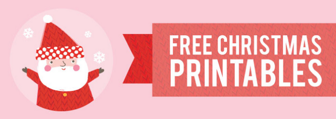 FREE CHRISTMAS PRINTABLES | STUCK ON YOU