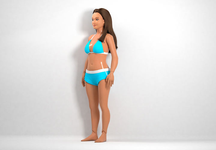 Meet the New Barbie Lammily |Stuck on You