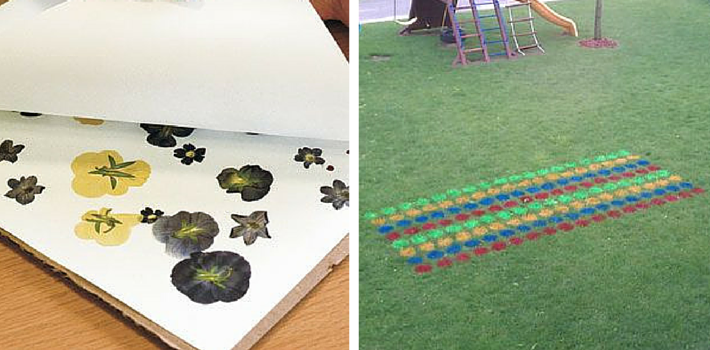 Find tips and tricks for perfect flower pressing at Fine Gardening and discover how to make your own DIY Twister at Instructables.