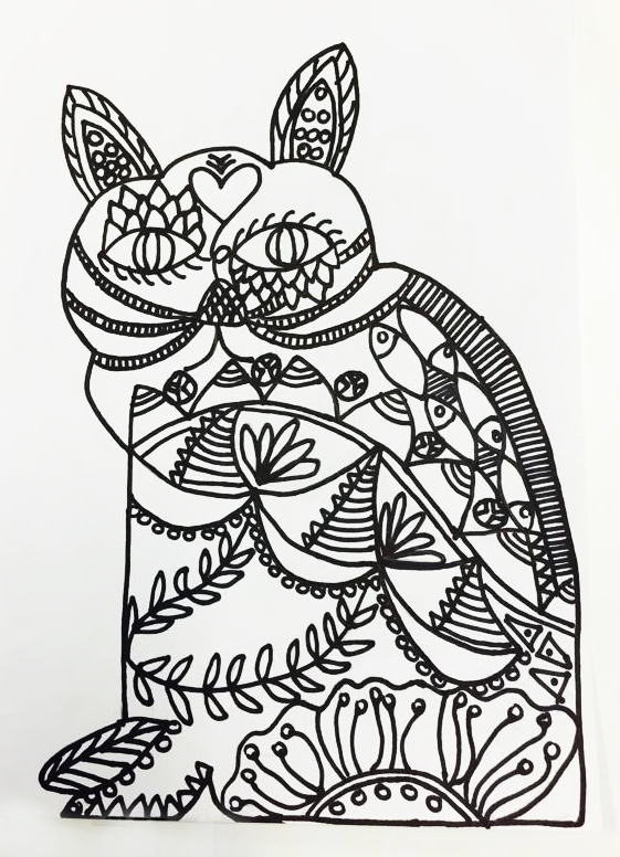 DIY WEEKEND CRAFT – ADULT COLOURING