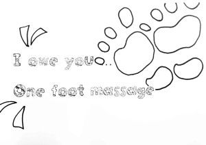 Free Fathers Day Printables Foot Massage