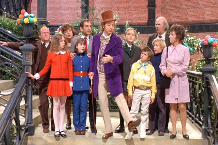 Image: Willy Wonka and the Chocolate Factory, Paramount Pictures