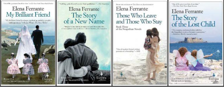 Image: Neapolitan novels. Europa Editions