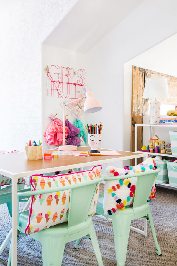 Create an awesome kids craft area stuck on you - Craft area for small spaces property ...