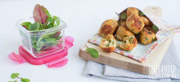 One Handed Cooks: Easy chicken balls