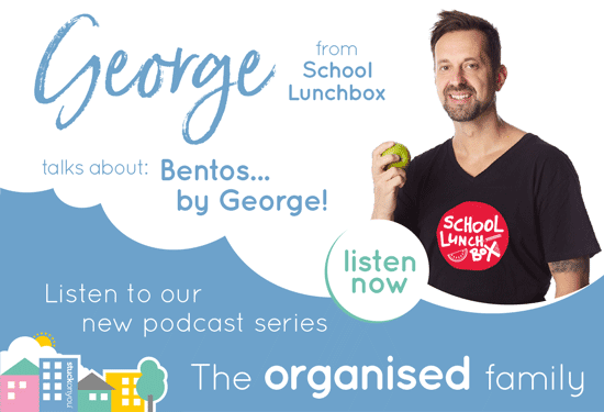 Podcast - The Organised Family