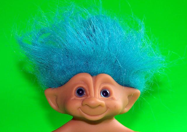 Fads for Kids - Troll Dolls