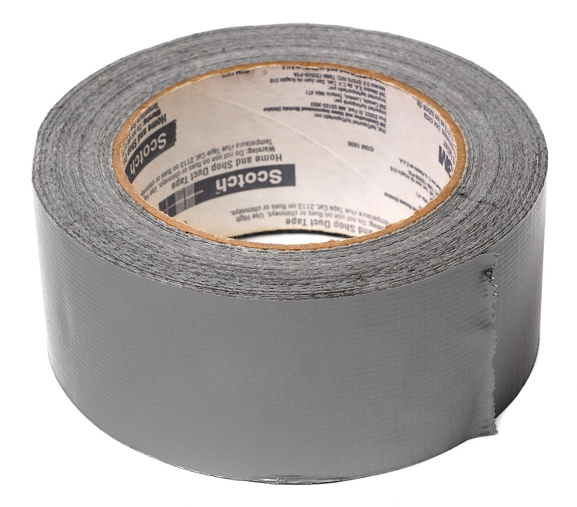 Family road trip - duct tape