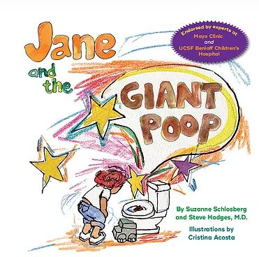 Jane and the Giant poop - Books about poo