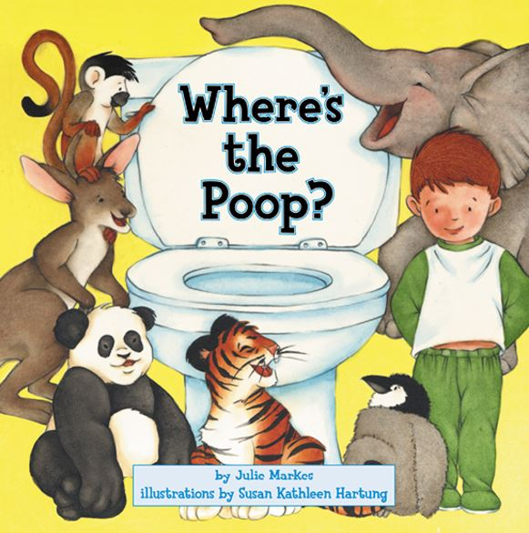 Where's the poop? Books about poo