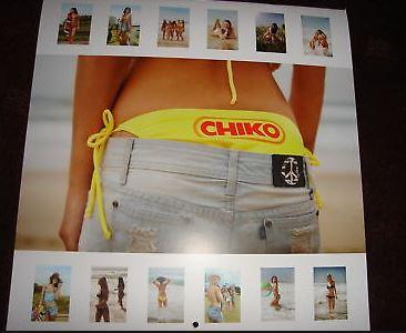 Chiko roll girls calendar