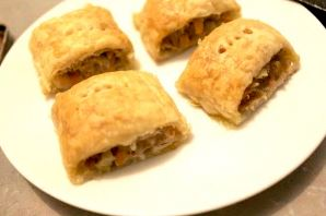 Footy BBQ - Sausage roll