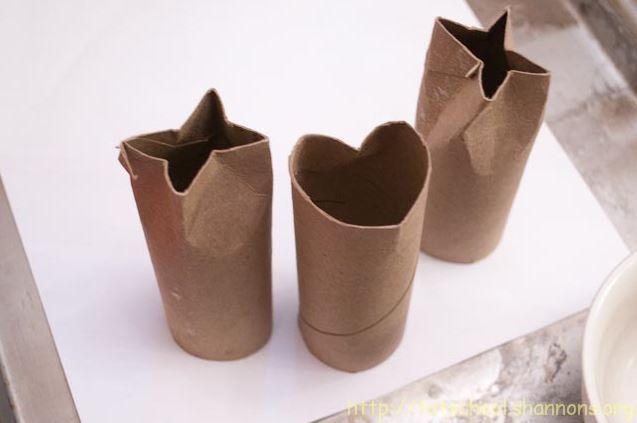 Cardboard crafts - toilet paper