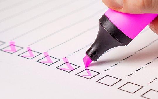 Procrastination - Checklist