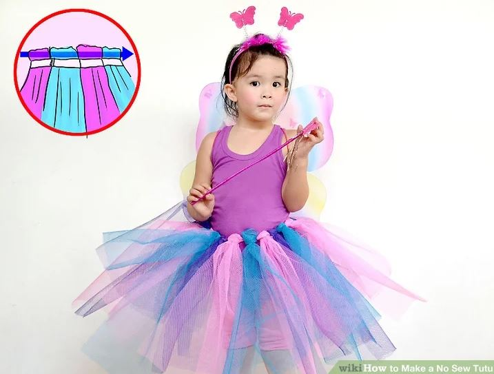 No-sew dress ups - Tutu