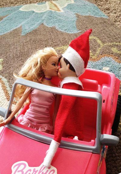 Elf on the Shelf - Barbie