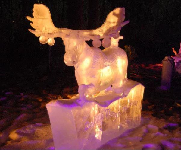 Christmas lights - Alaska