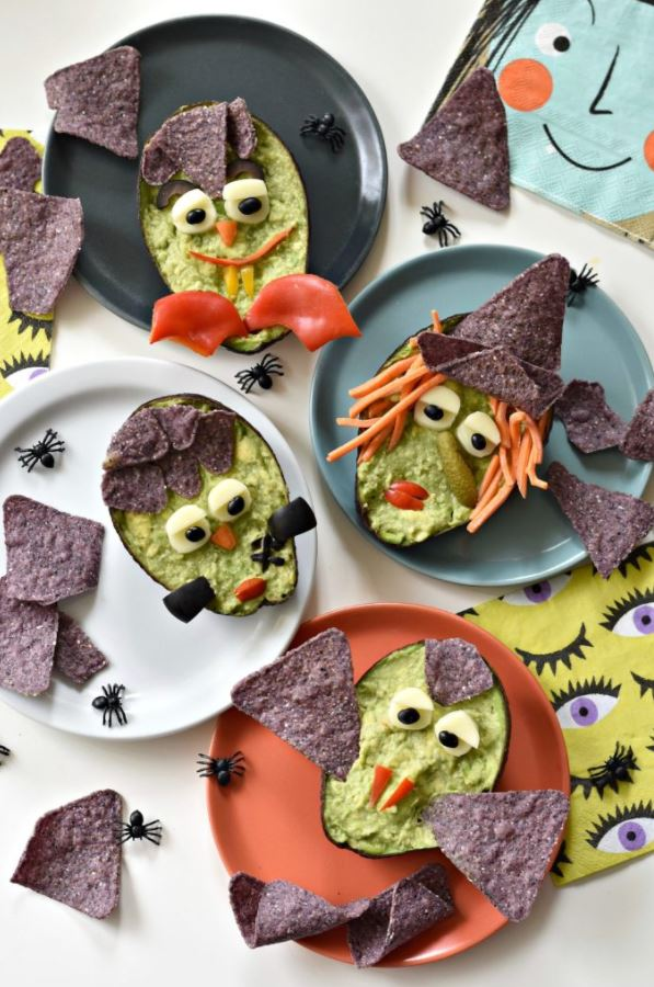 Halloween treats - Guacamole