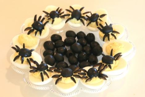 Halloween treats - Spiders