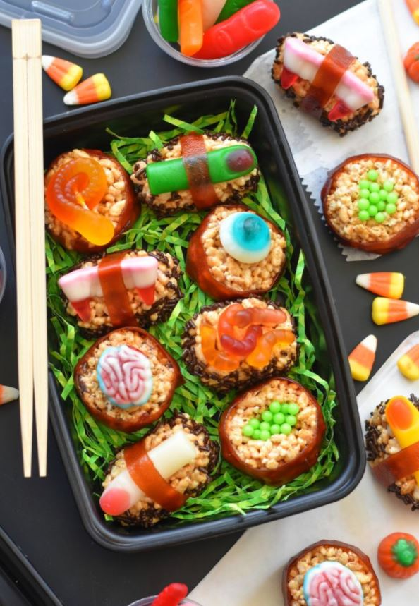 Halloween treats - Sushi