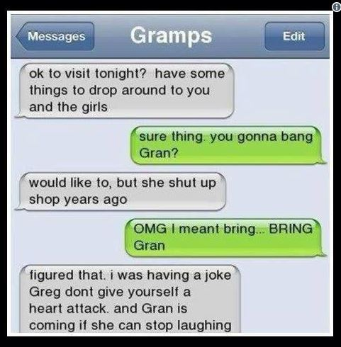Grandparents Day - Bang Gran